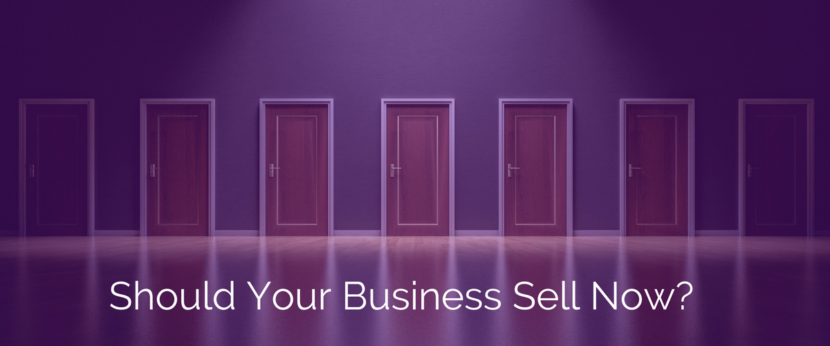 Should You Sell Your Business Now?