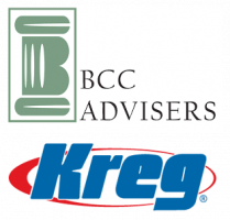 BCC Advisers and Kreg Tool Logos