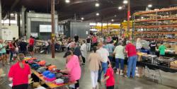 photo inside weiler warehouse
