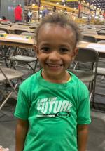 """employee's children wore custom weiler shirts saying """"I am the future"""""""